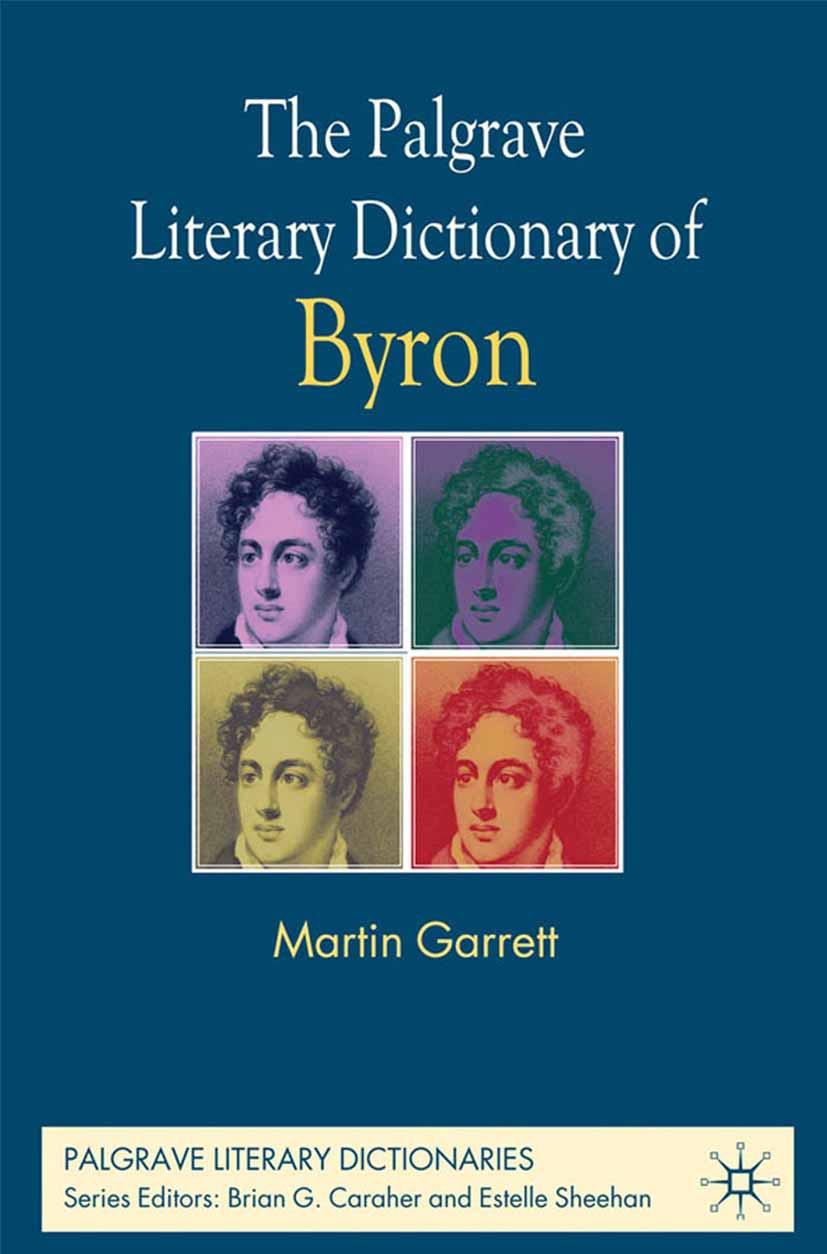 Garrett, Martin - The Palgrave Literary Dictionary of Byron, ebook