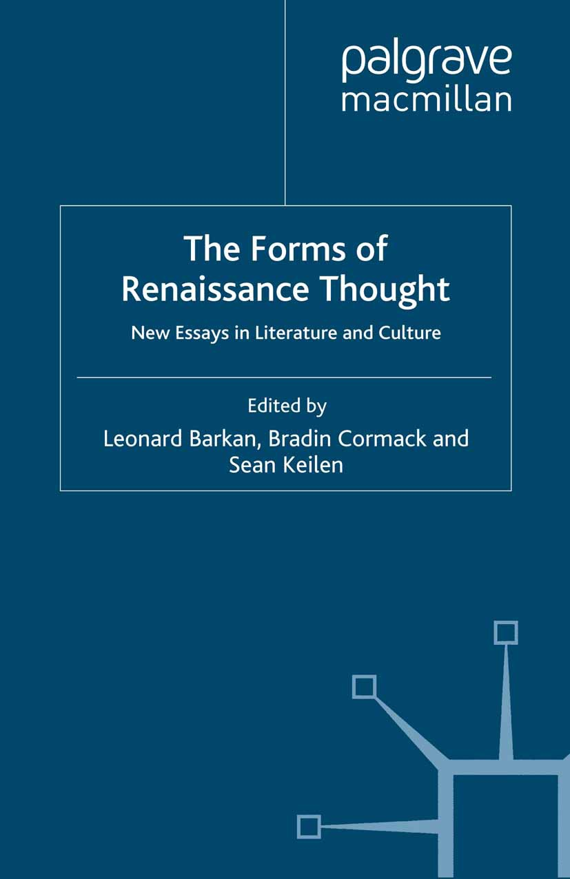 Barkan, Leonard - The Forms of Renaissance Thought, ebook