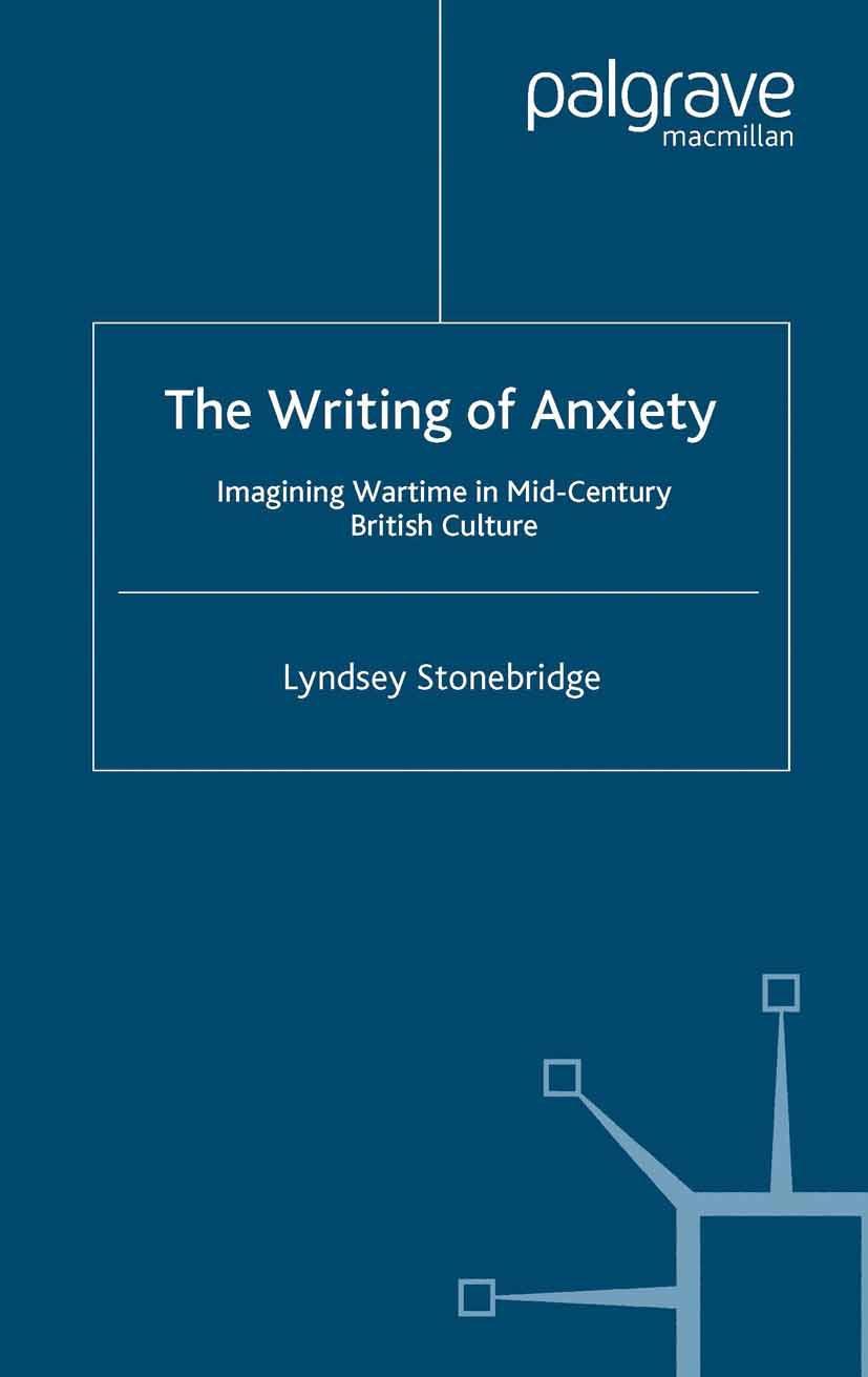 Stonebridge, Lyndsey - The Writing of Anxiety, ebook