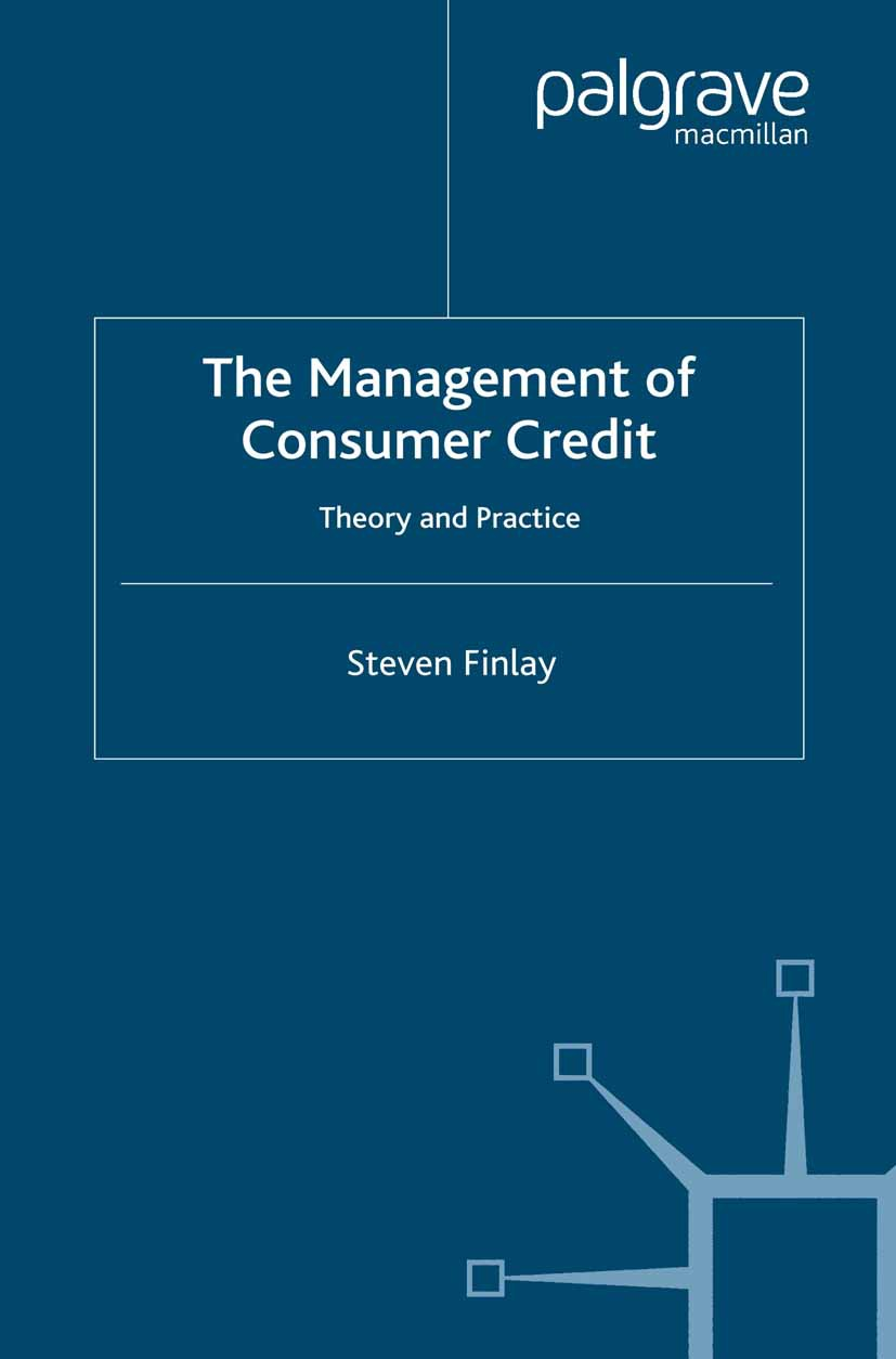 Finlay, Steven - The Management of Consumer Credit, ebook