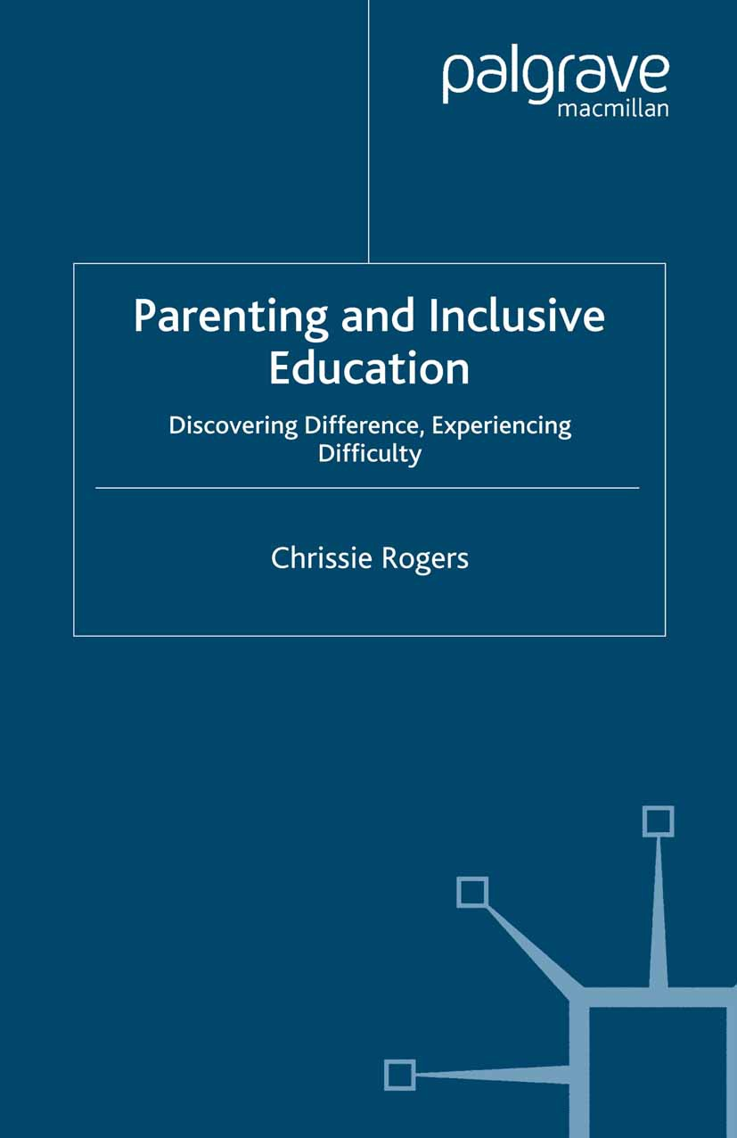 Rogers, Chrissie - Parenting and Inclusive Education, ebook