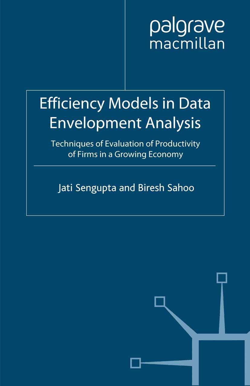 Sahoo, Biresh - Efficiency Models in Data Envelopment Analysis, ebook