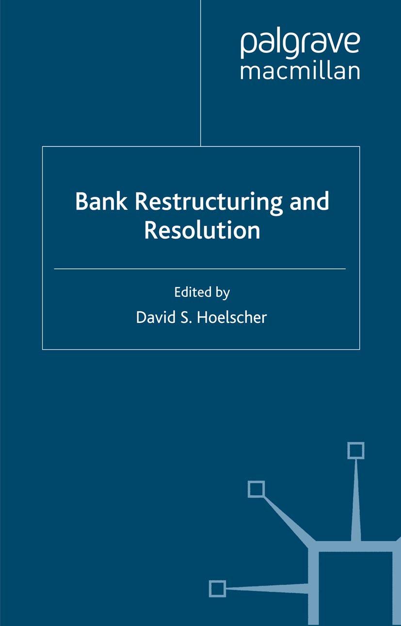 Hoelscher, David S. - Bank Restructuring and Resolution, ebook