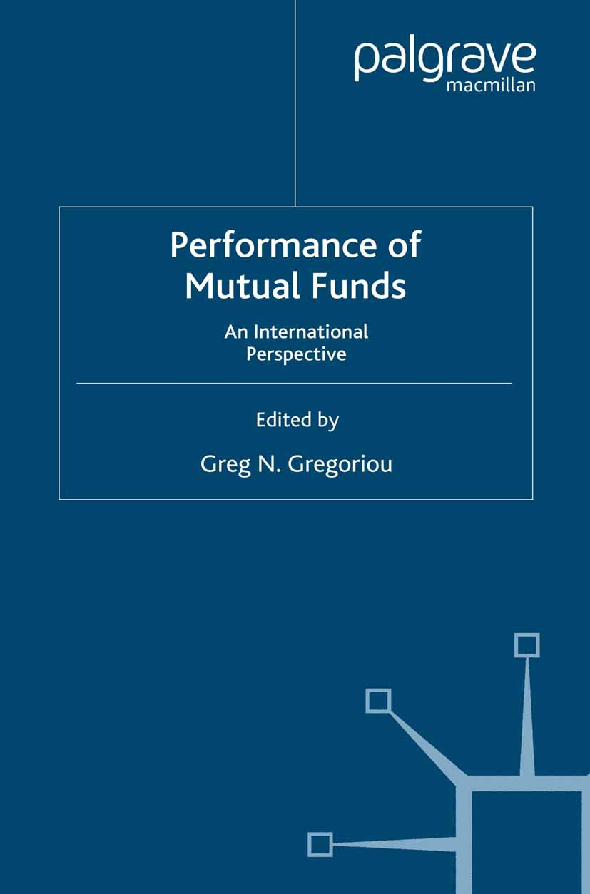 Gregoriou, Greg N. - Performance of Mutual Funds, ebook