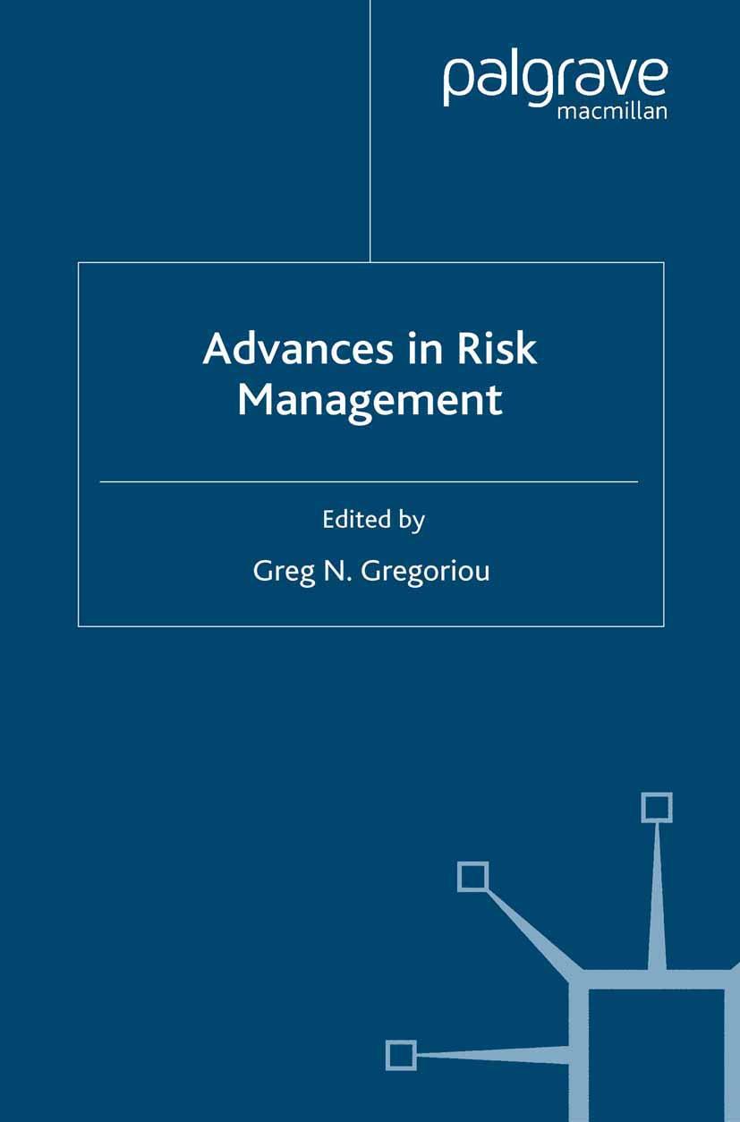 Gregoriou, Greg N. - Advances in Risk Management, ebook