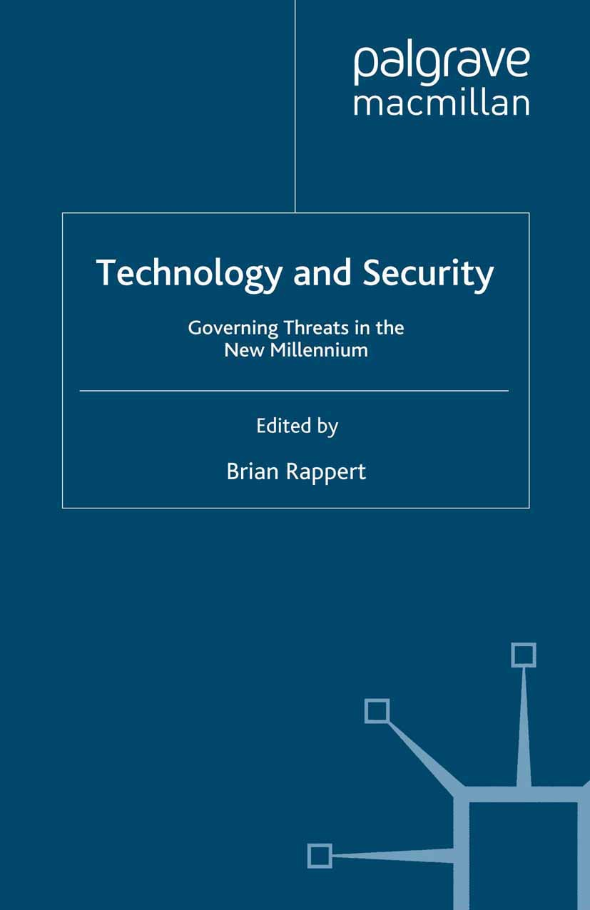 Rappert, Brian - Technology and Security, ebook