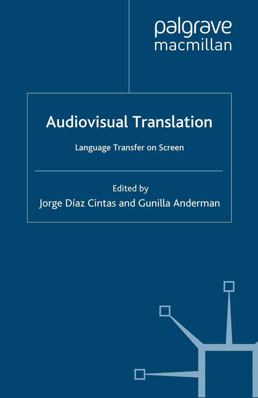 Anderman, Gunilla - Audiovisual Translation, ebook
