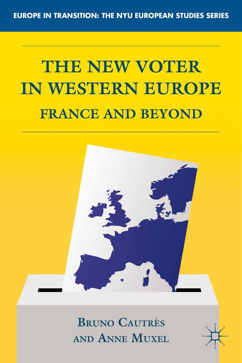Cautrès, Bruno - The New Voter in Western Europe, ebook