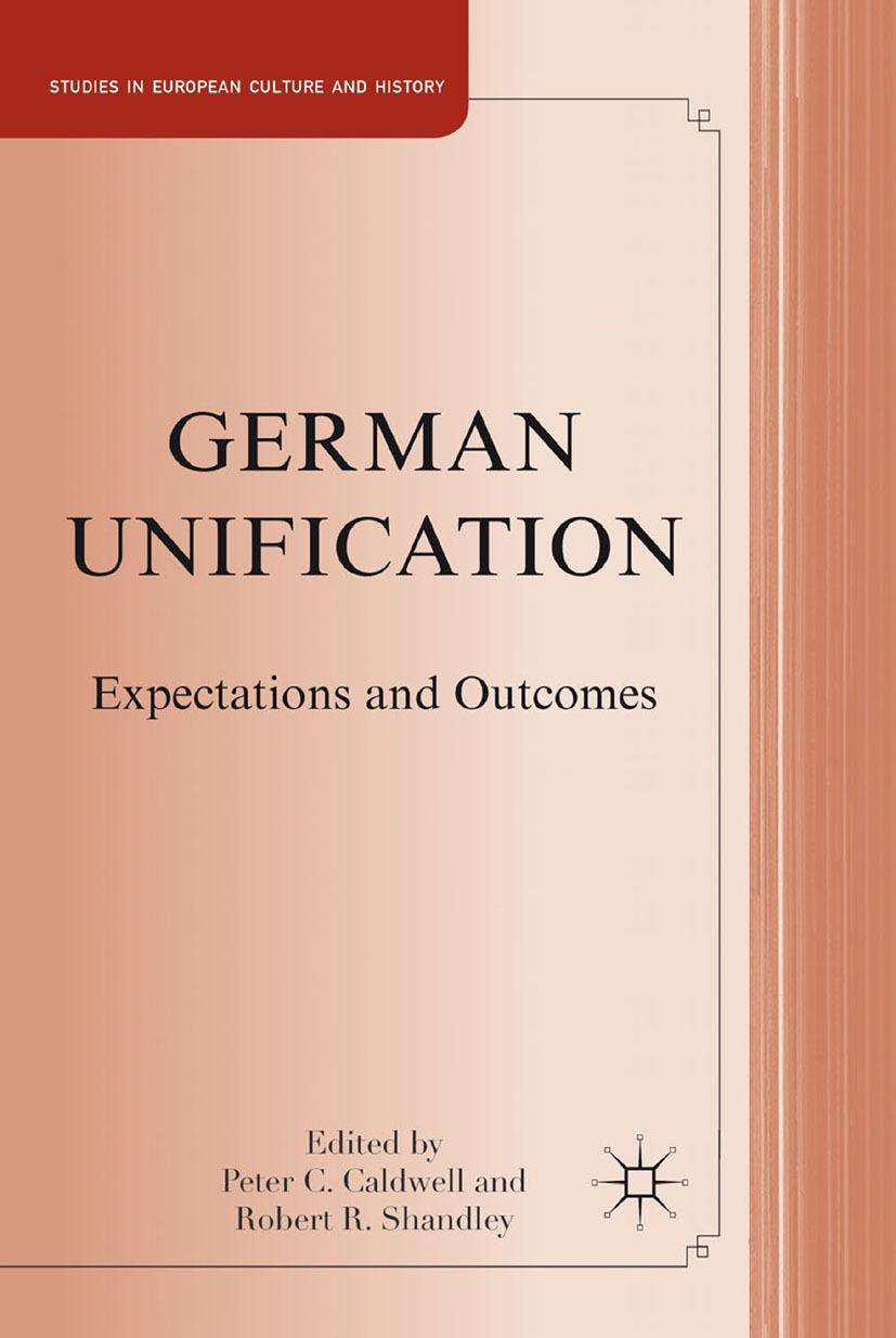 Caldwell, Peter C. - German Unification, ebook