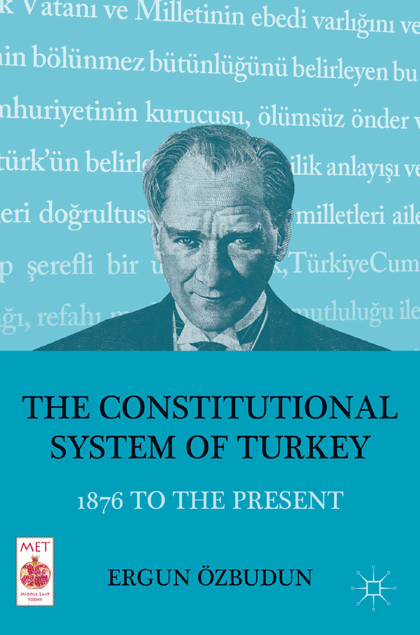 Özbudun, Ergun - The Constitutional System of Turkey, ebook
