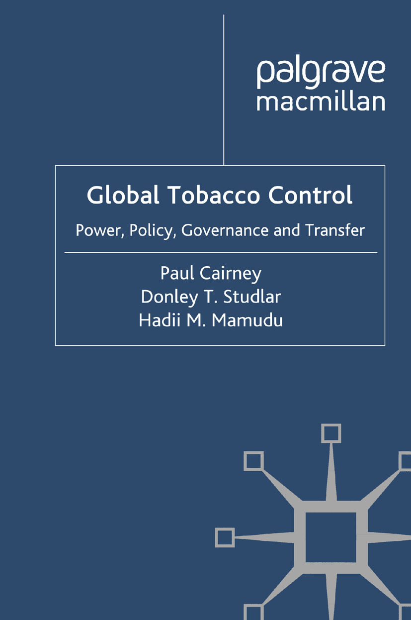 Cairney, Paul - Global Tobacco Control, ebook