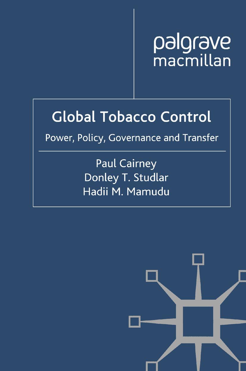 Cairney, Paul - Global Tobacco Control, ebook