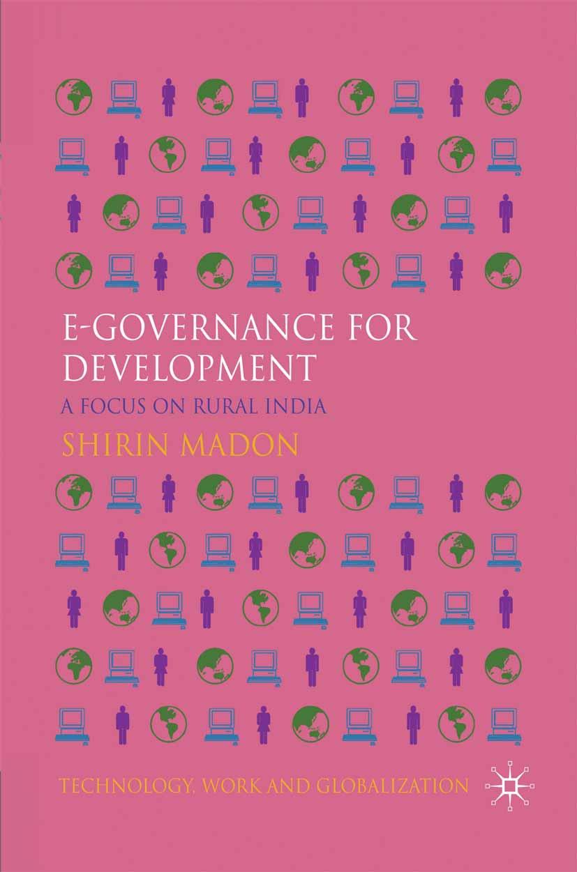 Madon, Shirin - e-Governance for Development, ebook