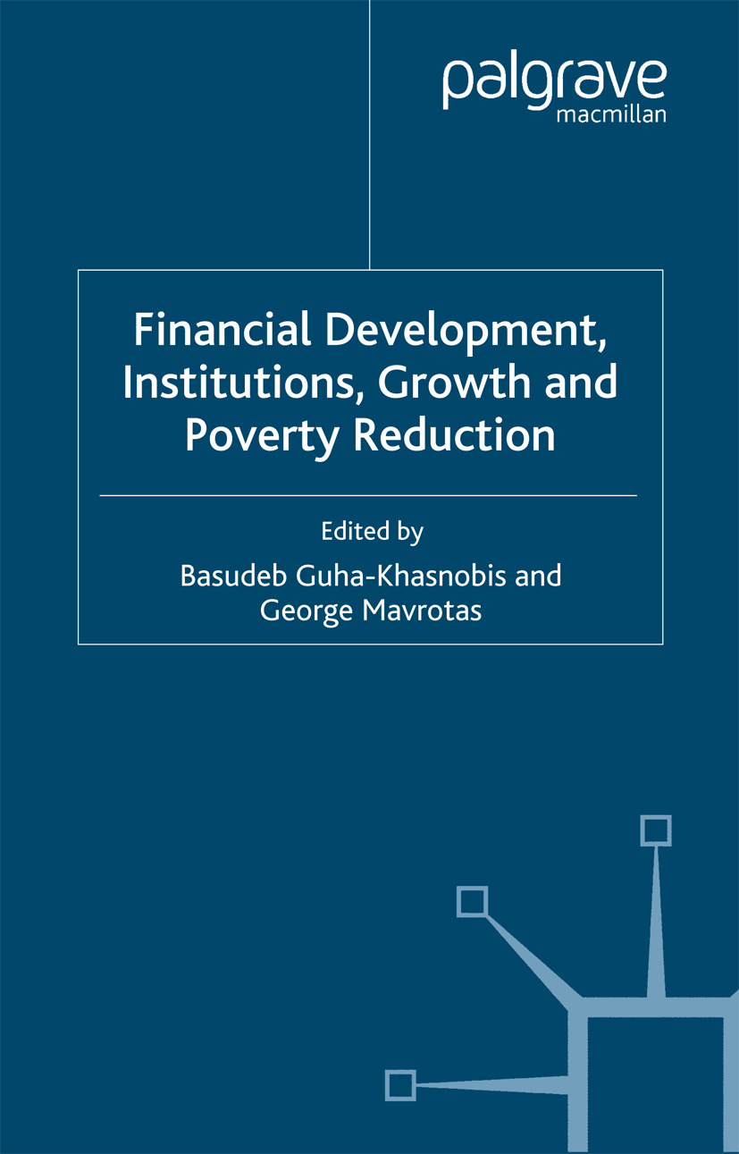 Guha-Khasnobis, Basudeb - Financial Development, Institutions, Growth and Poverty Reduction, ebook
