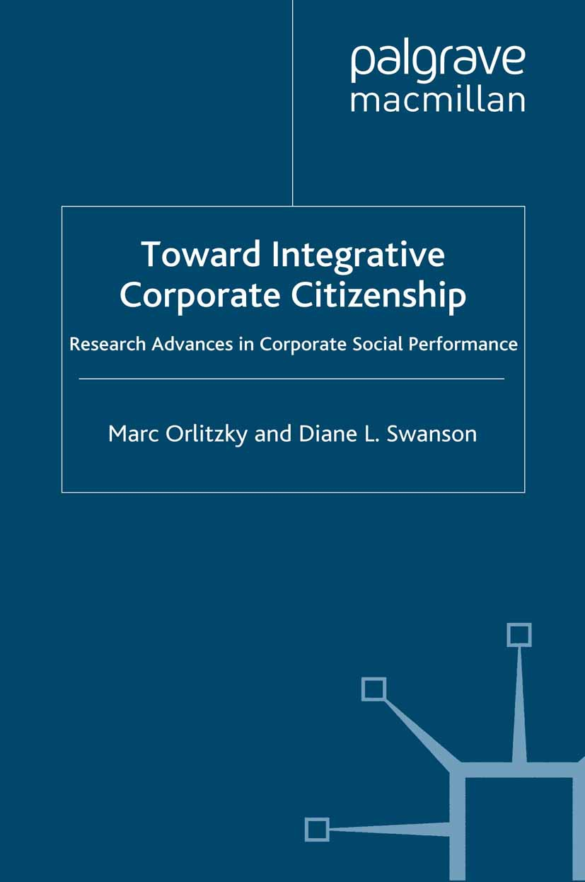 Orlitzky, Marc - Toward Integrative Corporate Citizenship, e-kirja