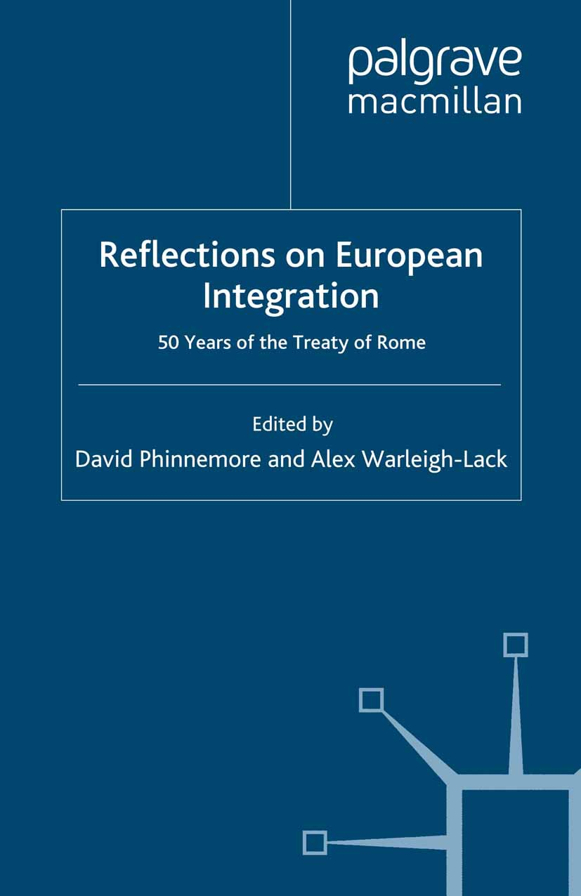 Phinnemore, David - Reflections on European Integration, ebook