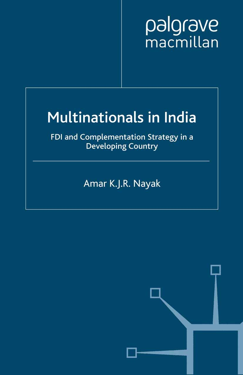Nayak, Amar K. J. R. - Multinationals in India, ebook