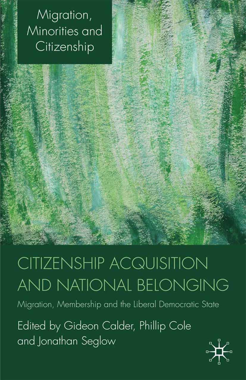 Calder, Gideon - Citizenship Acquisition and National Belonging, ebook
