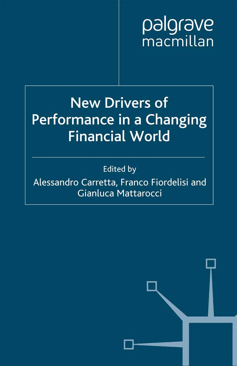 Carretta, Alessandro - New Drivers of Performance in a Changing Financial World, ebook