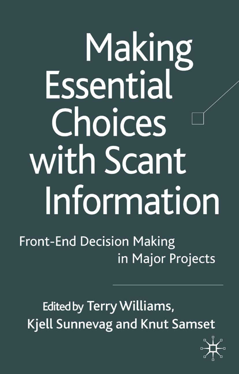 Samset, Knut - Making Essential Choices with Scant Information, ebook