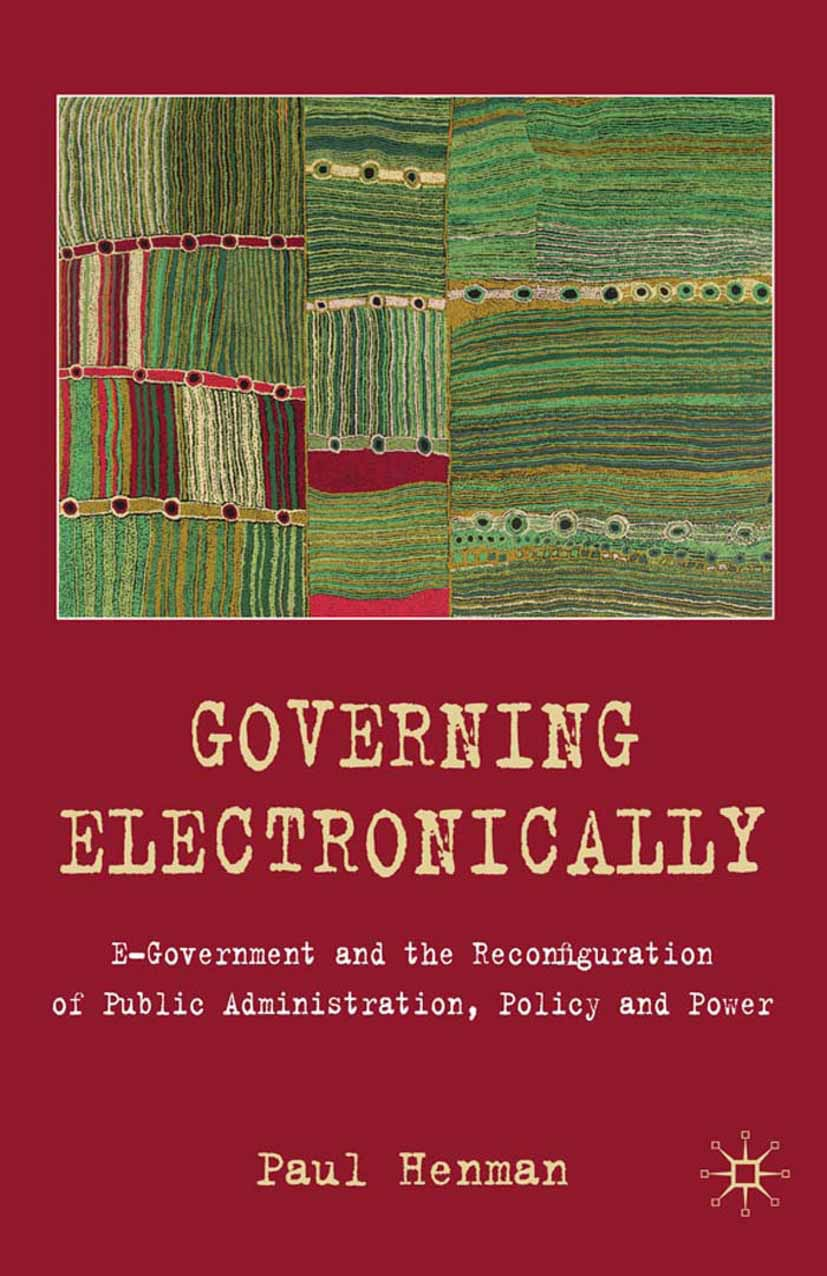 Henman, Paul - Governing Electronically, ebook