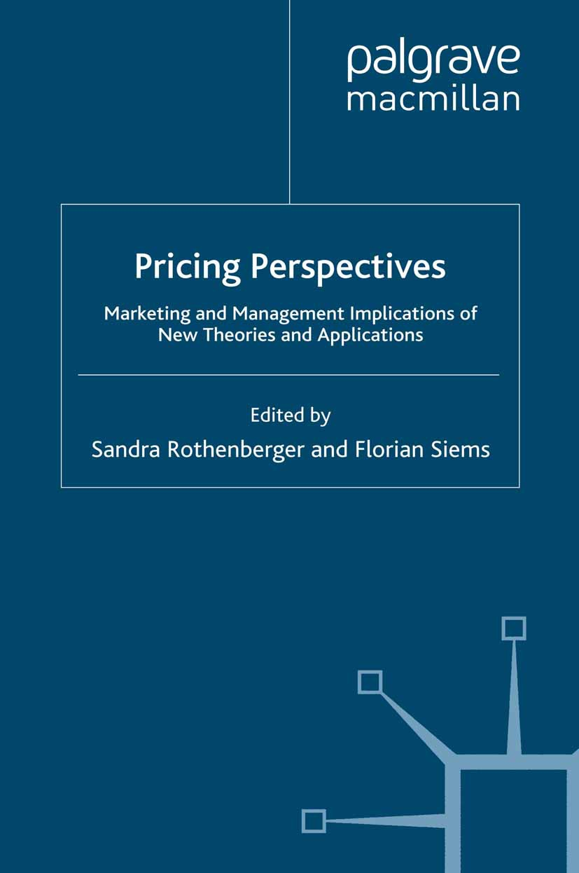 Rothenberger, Sandra - Pricing Perspectives, ebook