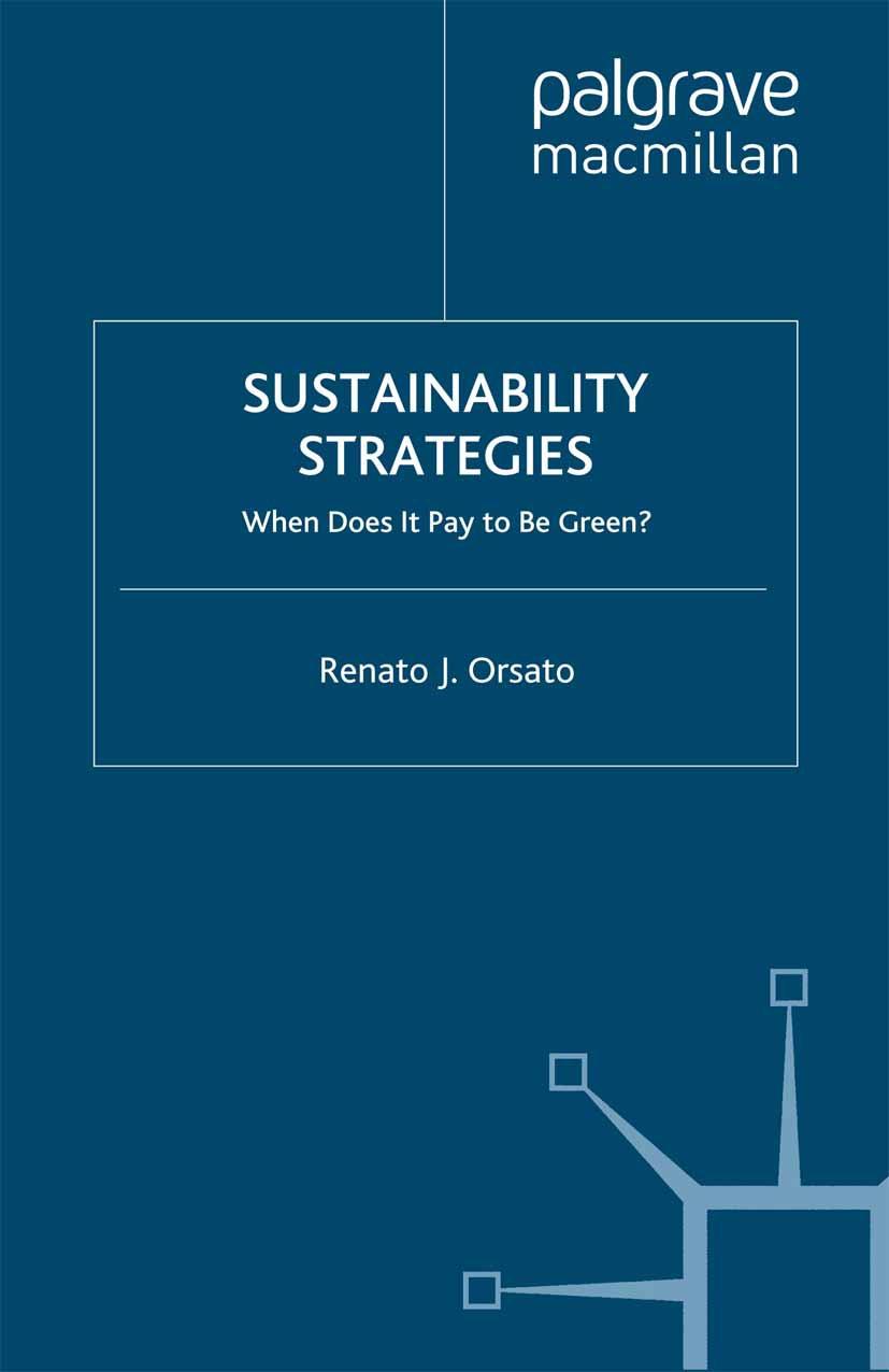Orsato, Renato J. - Sustainability Strategies, ebook