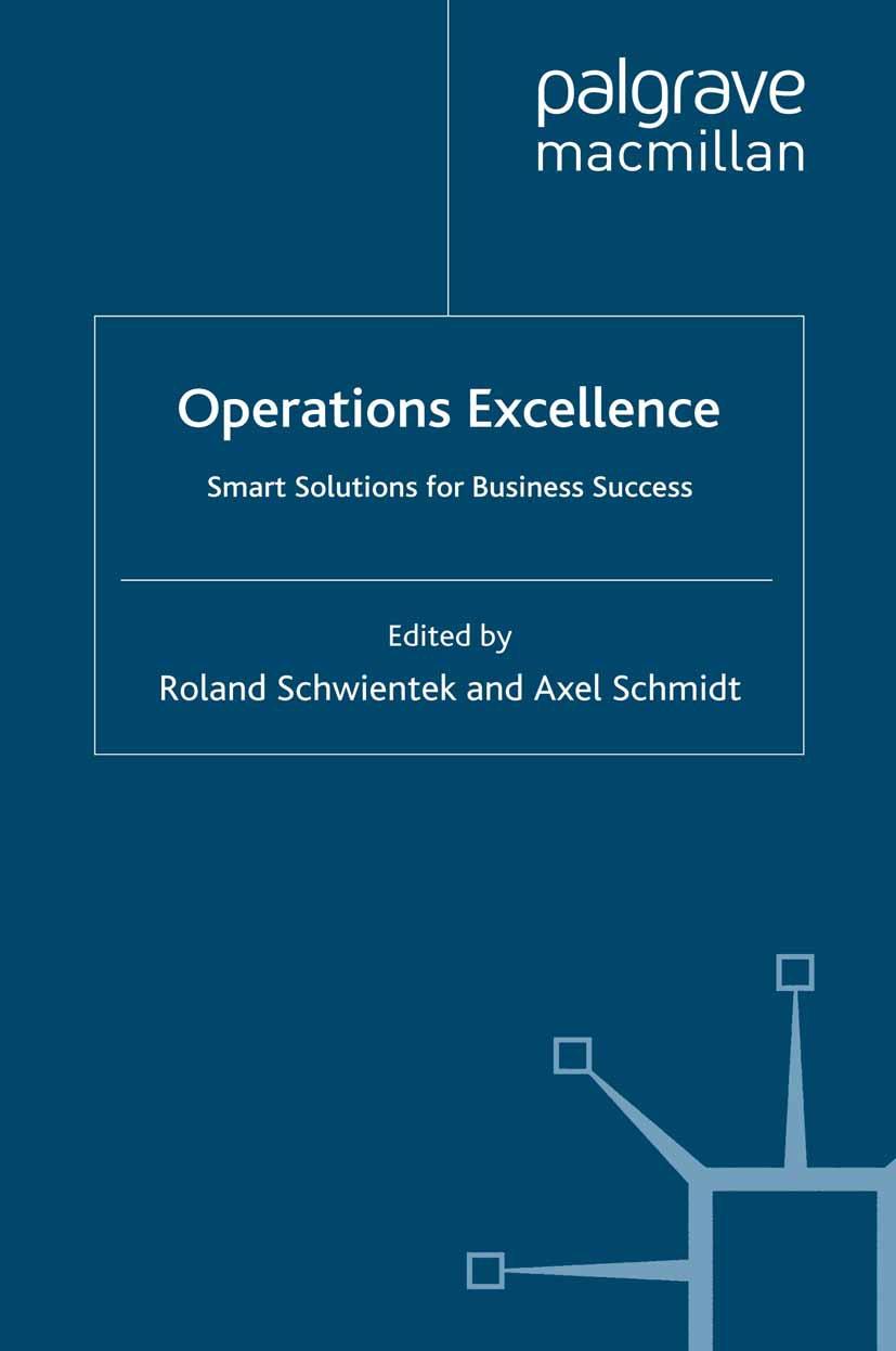Schmidt, Axel - Operations Excellence, ebook