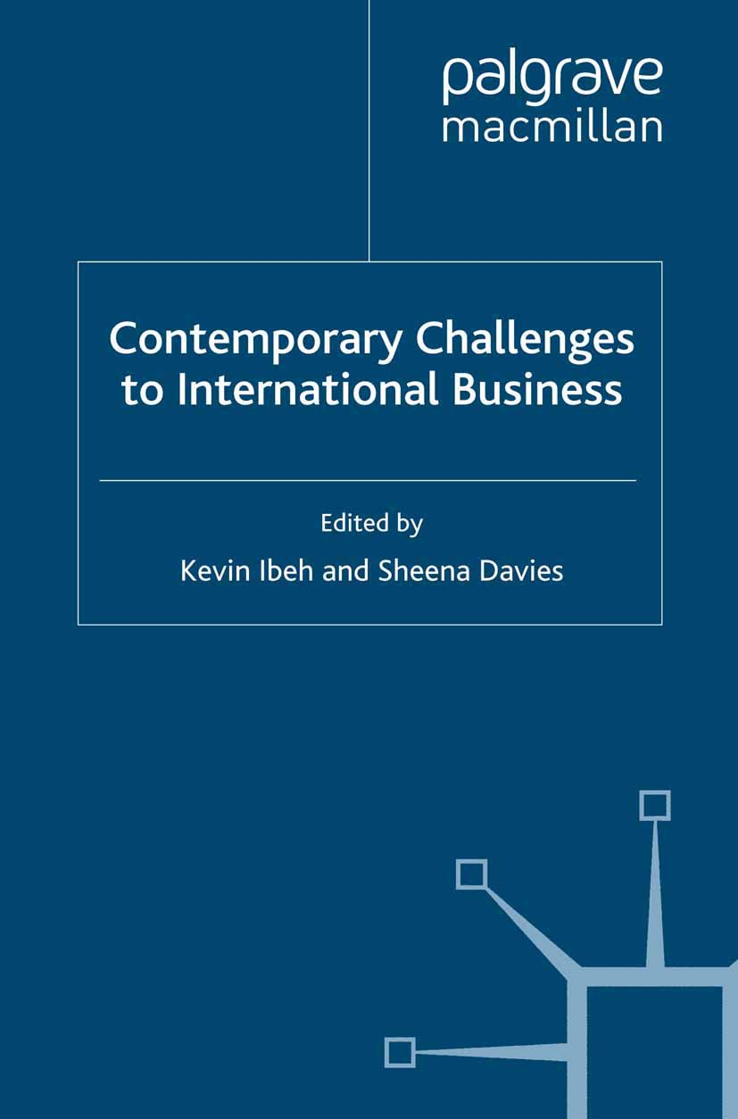Davies, Sheena - Contemporary Challenges to International Business, ebook