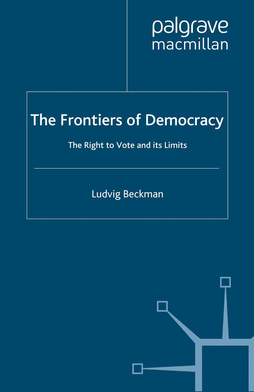 Beckman, Ludvig - The Frontiers of Democracy, ebook