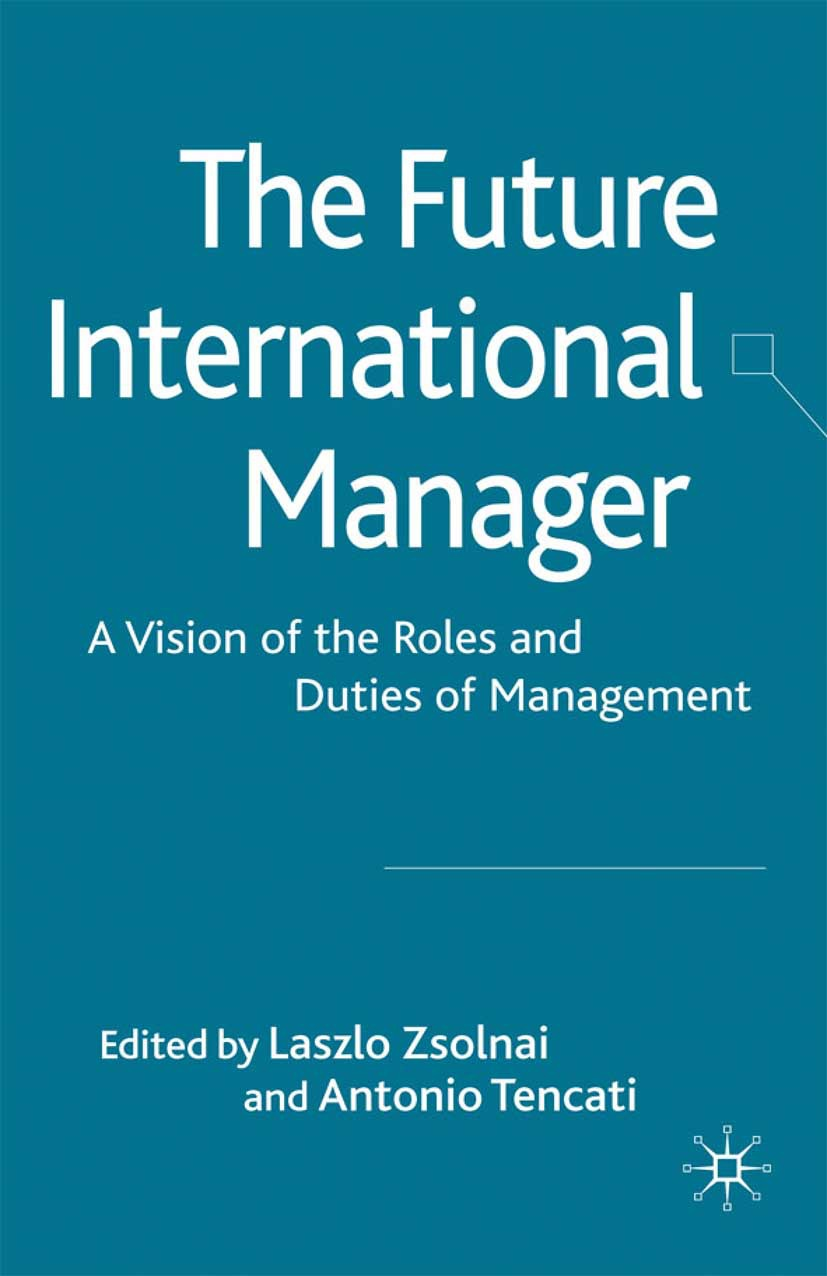 Tencati, Antonio - The Future International Manager, ebook