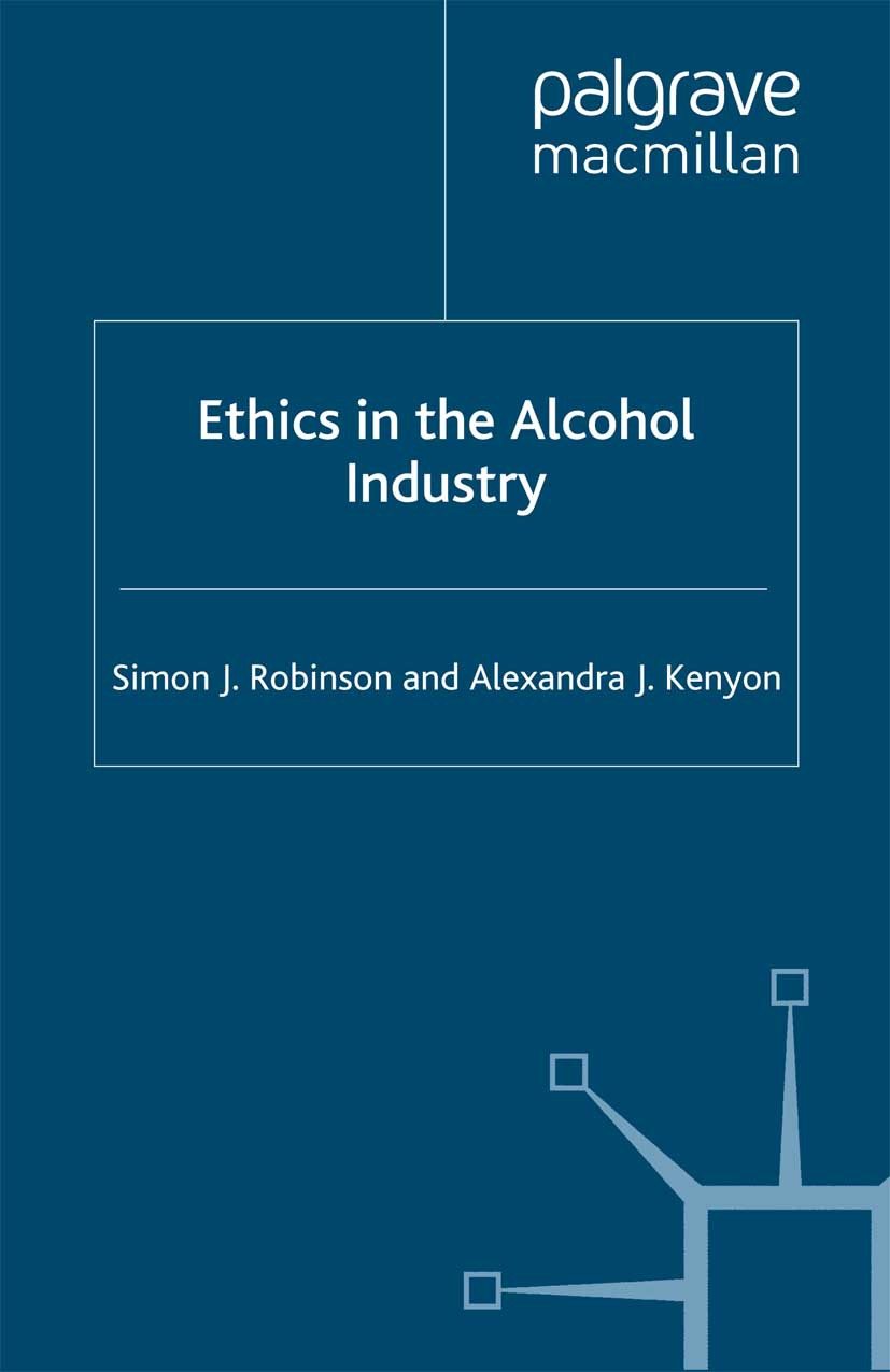 Kenyon, Alexandra J. - Ethics in the Alcohol Industry, ebook