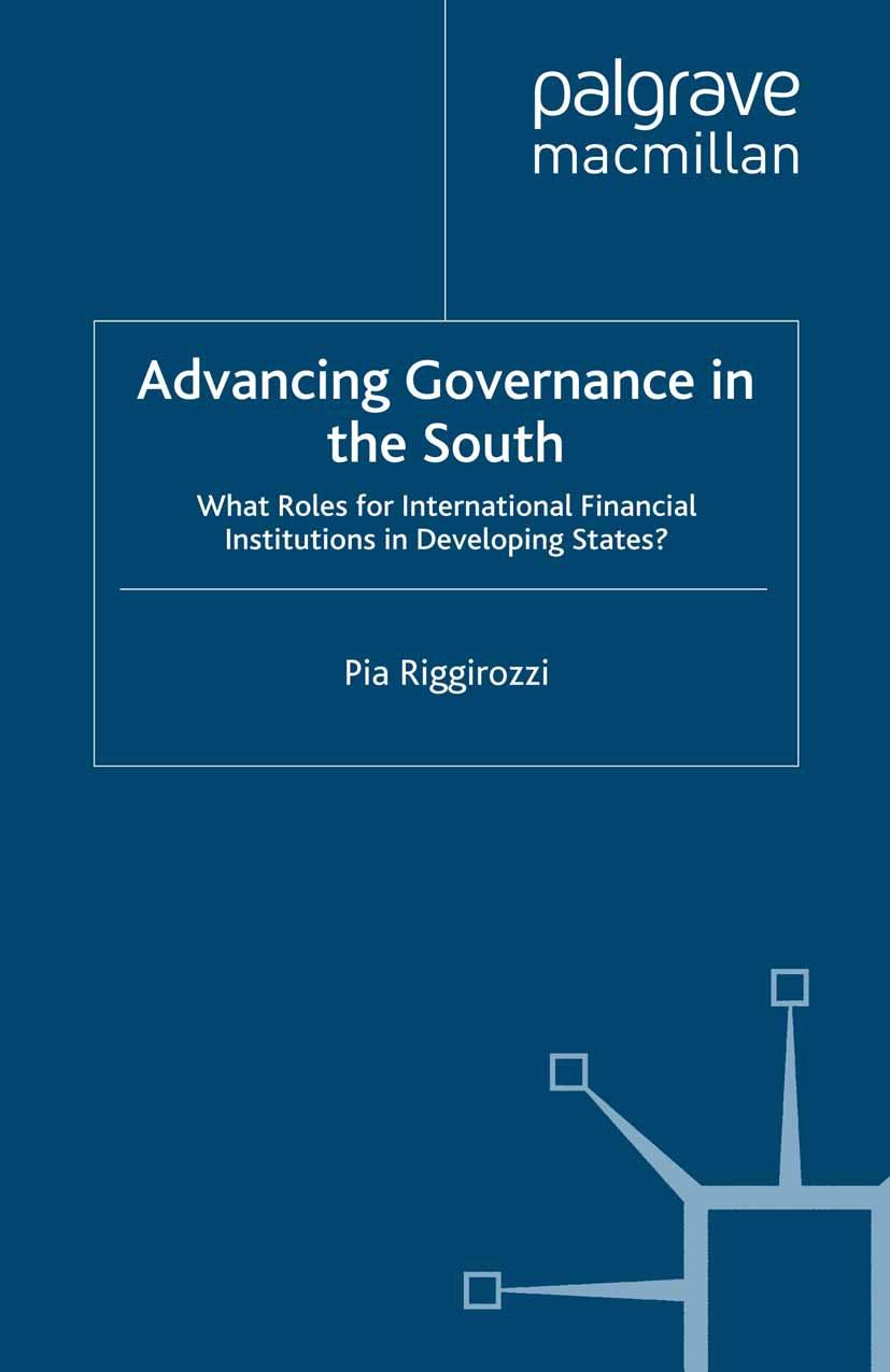 Riggirozzi, Pia - Advancing Governance in the South, ebook