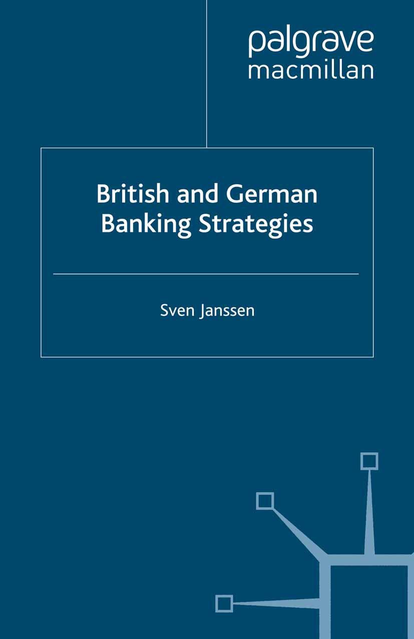 Janssen, Sven - British and German Banking Strategies, ebook