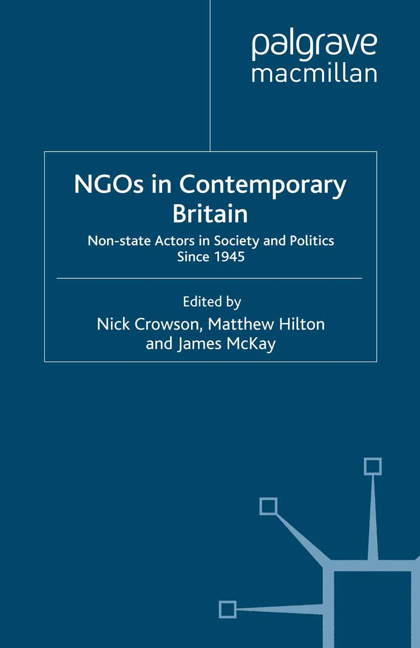 Crowson, Nick - NGOs in Contemporary Britain, ebook