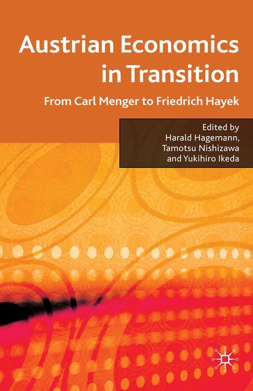 Hagemann, Harald - Austrian Economics in Transition, ebook