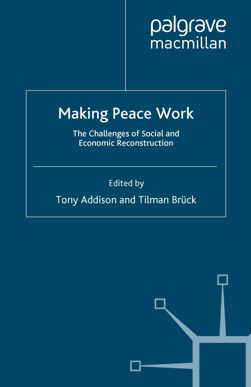Addison, Tony - Making Peace Work, ebook