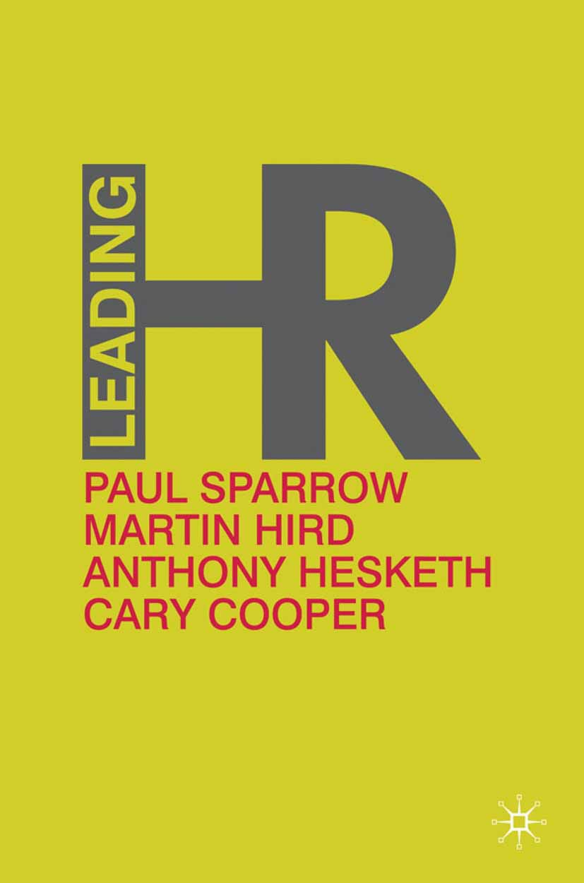 Cooper, Cary - Leading HR, ebook
