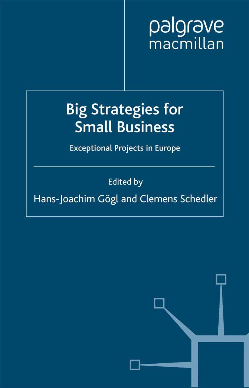 Gögl, Hans-Joachim - Big Strategies for Small Business, e-kirja