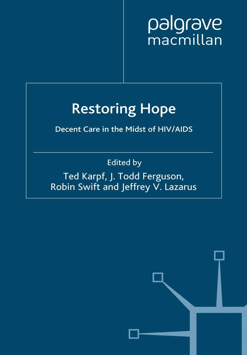 Ferguson, J. Todd - Restoring Hope, ebook