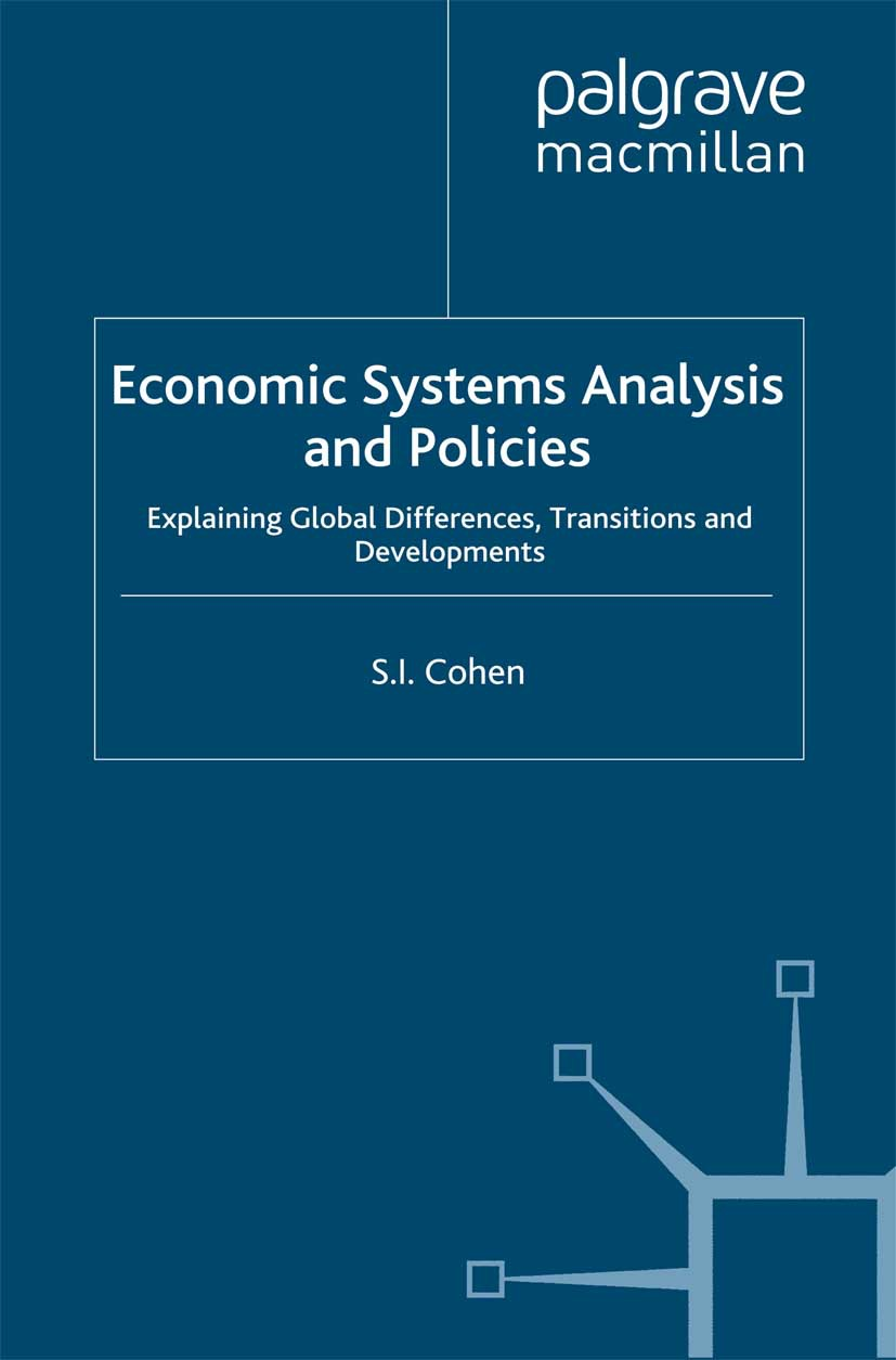 Cohen, S. I. - Economic Systems Analysis and Policies, ebook