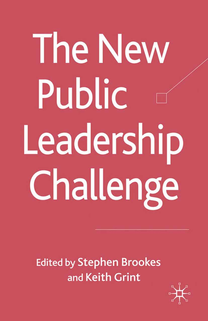 Brookes, Stephen - The New Public Leadership Challenge, ebook
