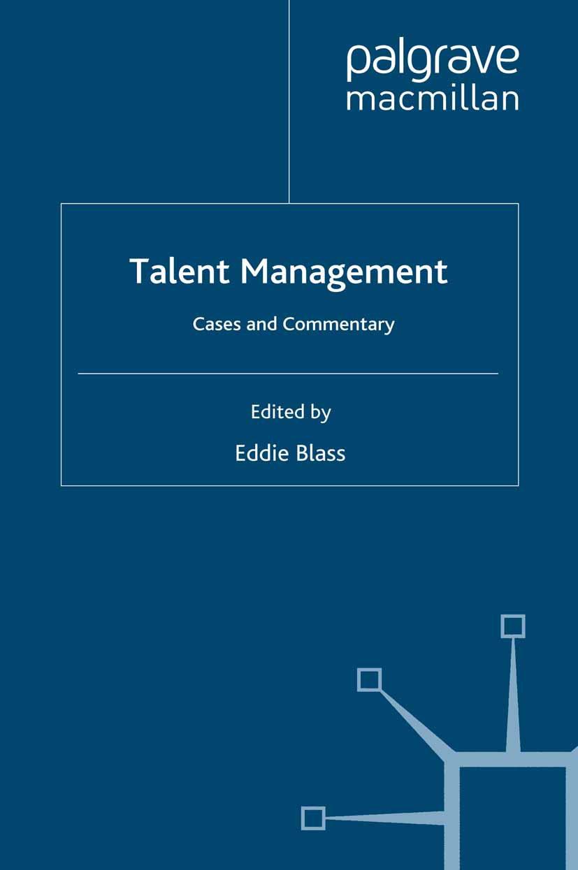 Blass, Eddie - Talent Management, ebook