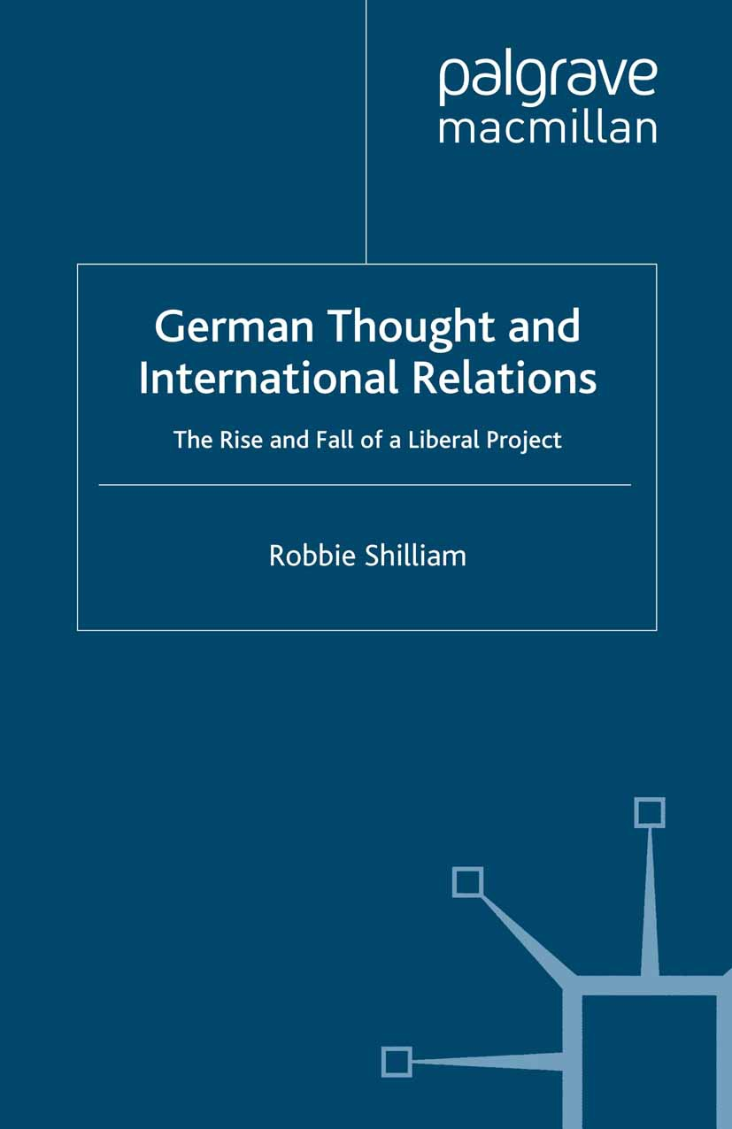 Shilliam, Robbie - German Thought and International Relations, ebook