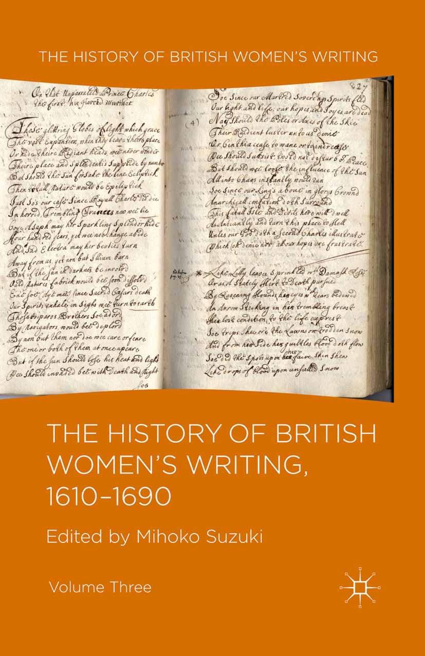 Suzuki, Mihoko - The History of British Women's Writing, 1610–1690, ebook