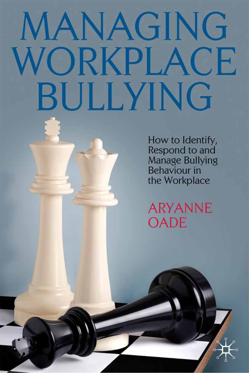Oade, Aryanne - Managing Workplace Bullying, ebook