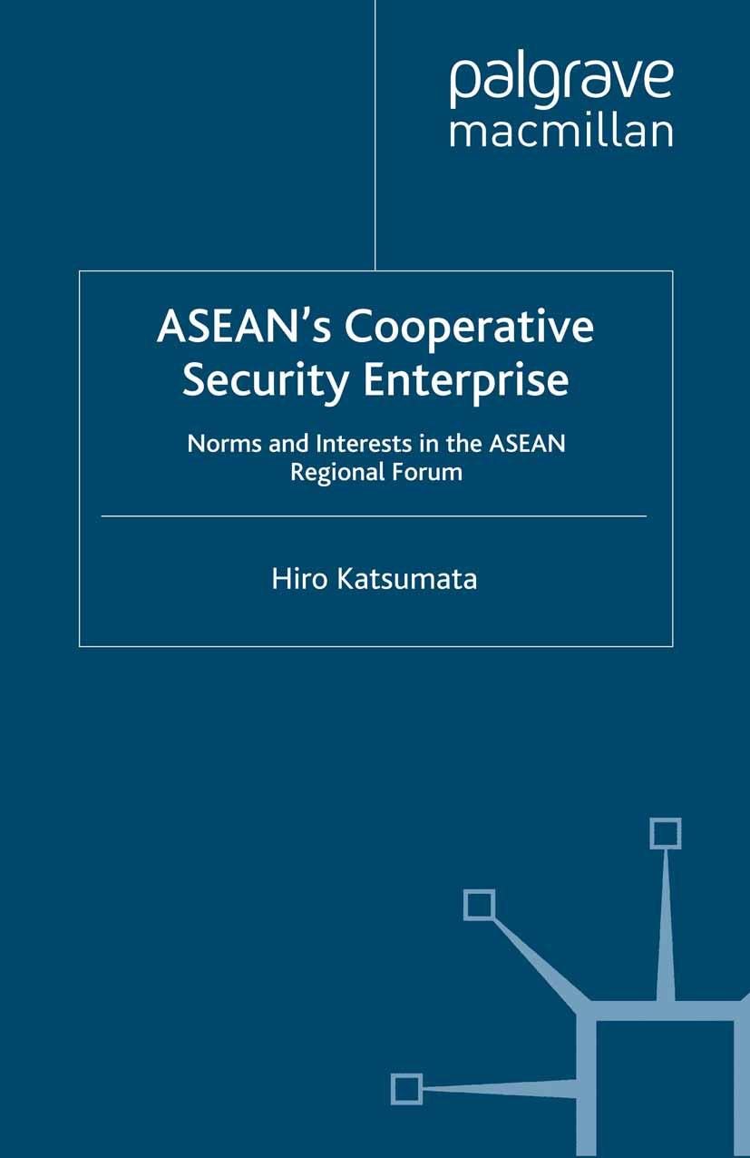 Katsumata, Hiro - ASEAN's Cooperative Security Enterprise, ebook