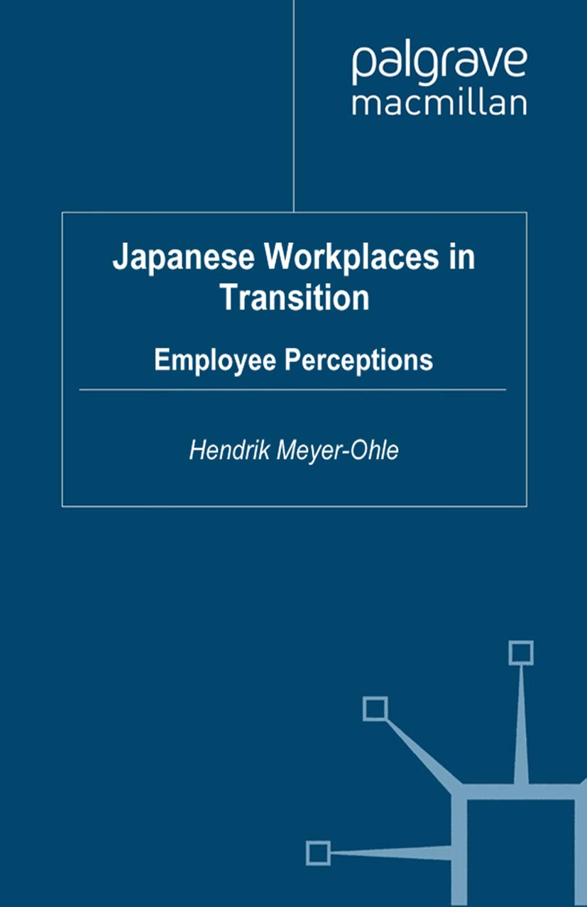 Meyer-Ohle, Hendrik - Japanese Workplaces in Transition, ebook