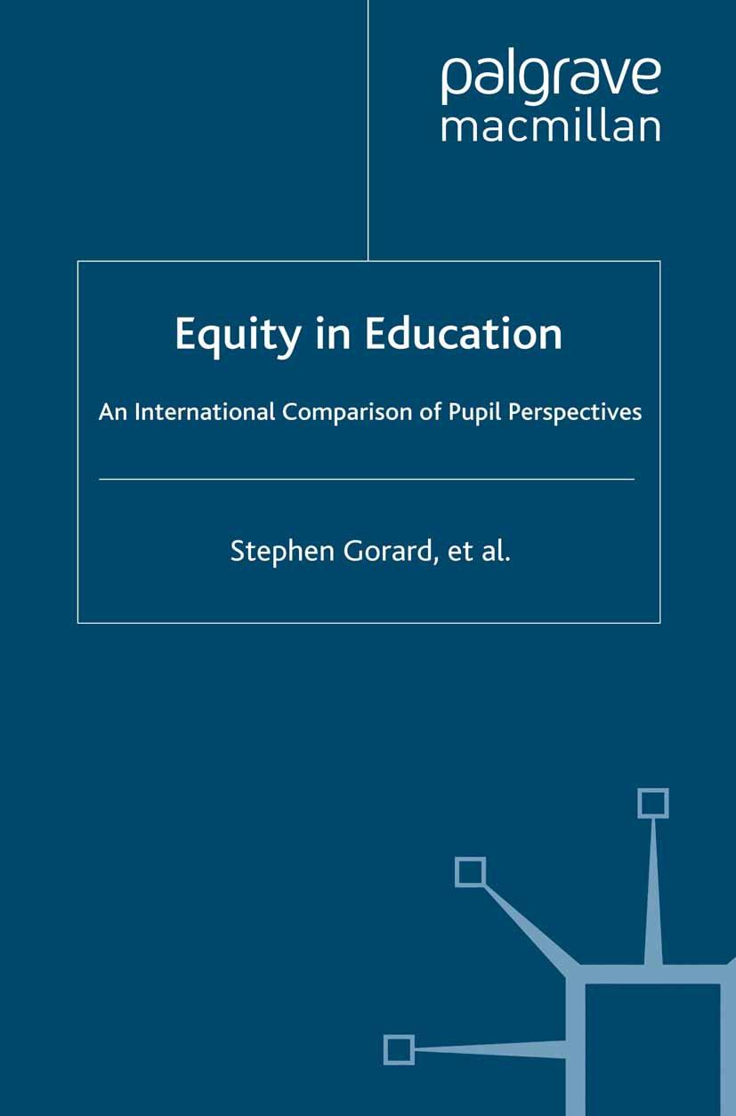Gorard, Stephen - Equity in Education, e-kirja