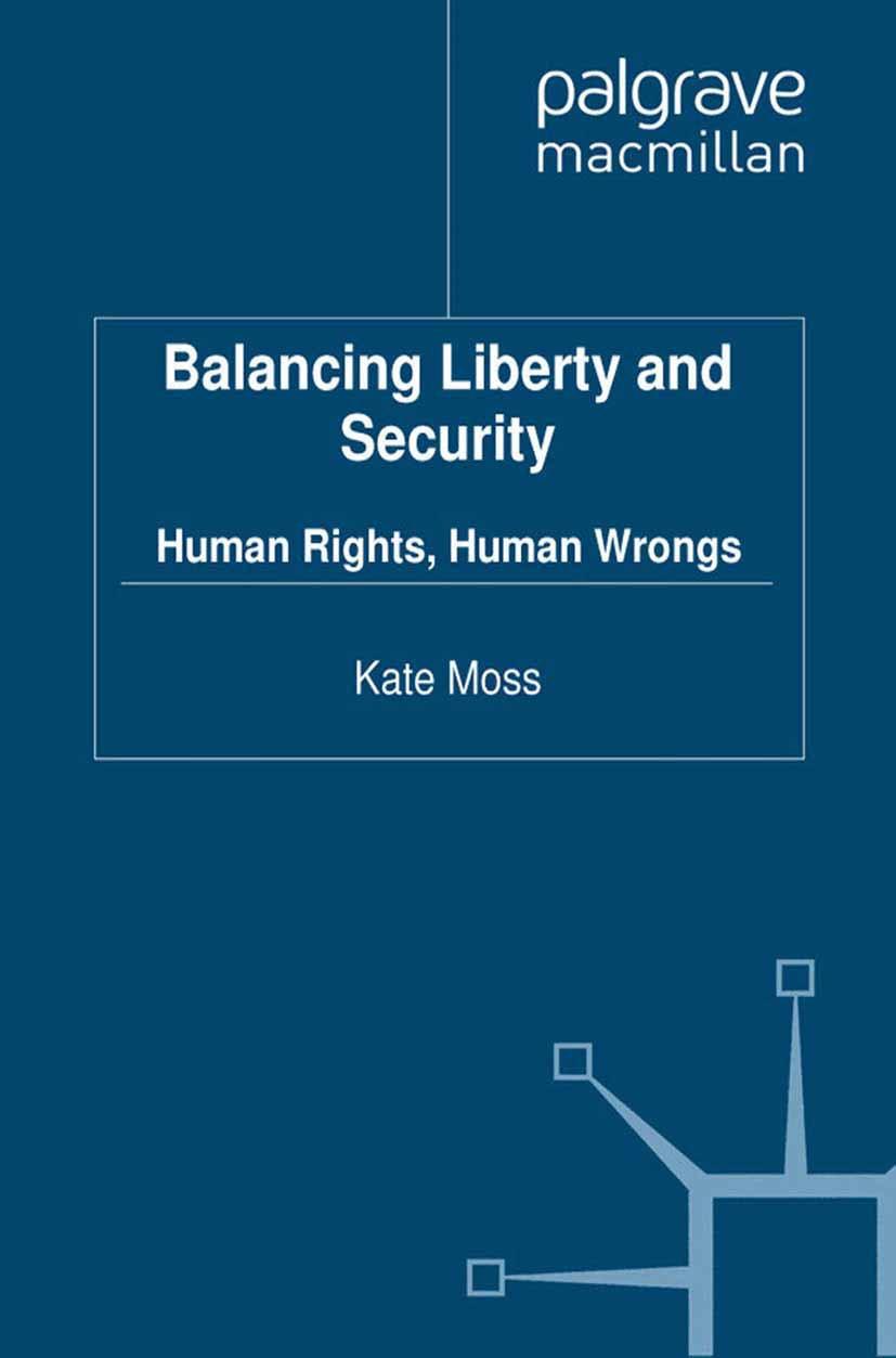 Moss, Kate - Balancing Liberty and Security, ebook